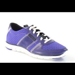 Cole Haan ZeroGrand Purple Sneakers size 7.5